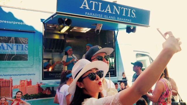 Atlantis Food Truck – Divulgação do Resort Atlantis nas Bahamas